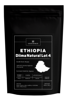 Ethiopia Diima Natural Lot4